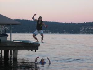 Water exercise can help bones!