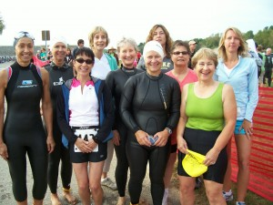 FIT Group at the TriHawk start, 2009